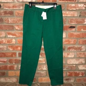 Women's J. Crew Stretch Skimmer City Fit Pants 4